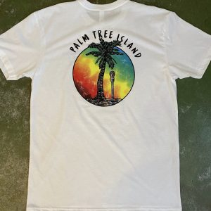 Palm Tree Island Tee